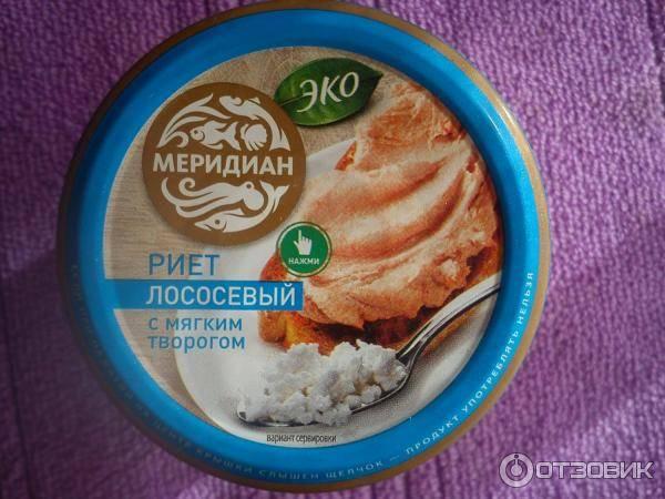 Риет из лосося: диетический рецепт с мягким творогом