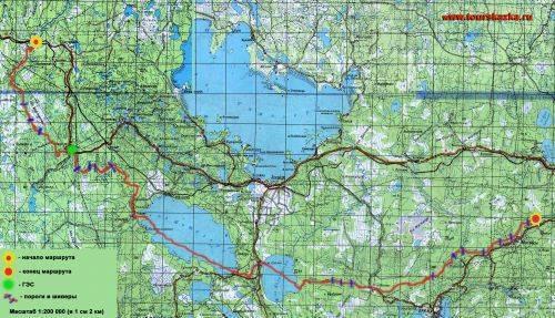 Реки карелии - информация для туристов - планета дорог