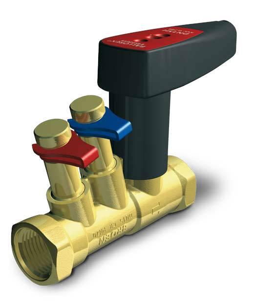 Работа балансировочного клапана   балансировка отопления   блог инженера теплоэнергетика