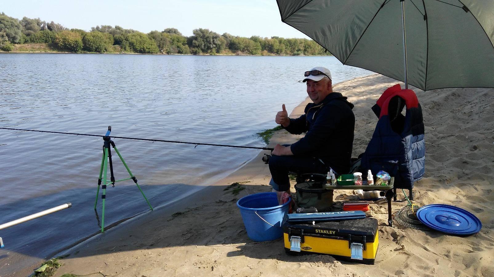 Рыбалка в Коломне