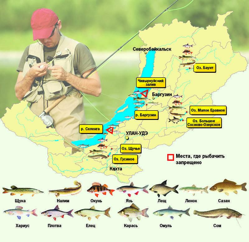 Рыбалка в иркутской области