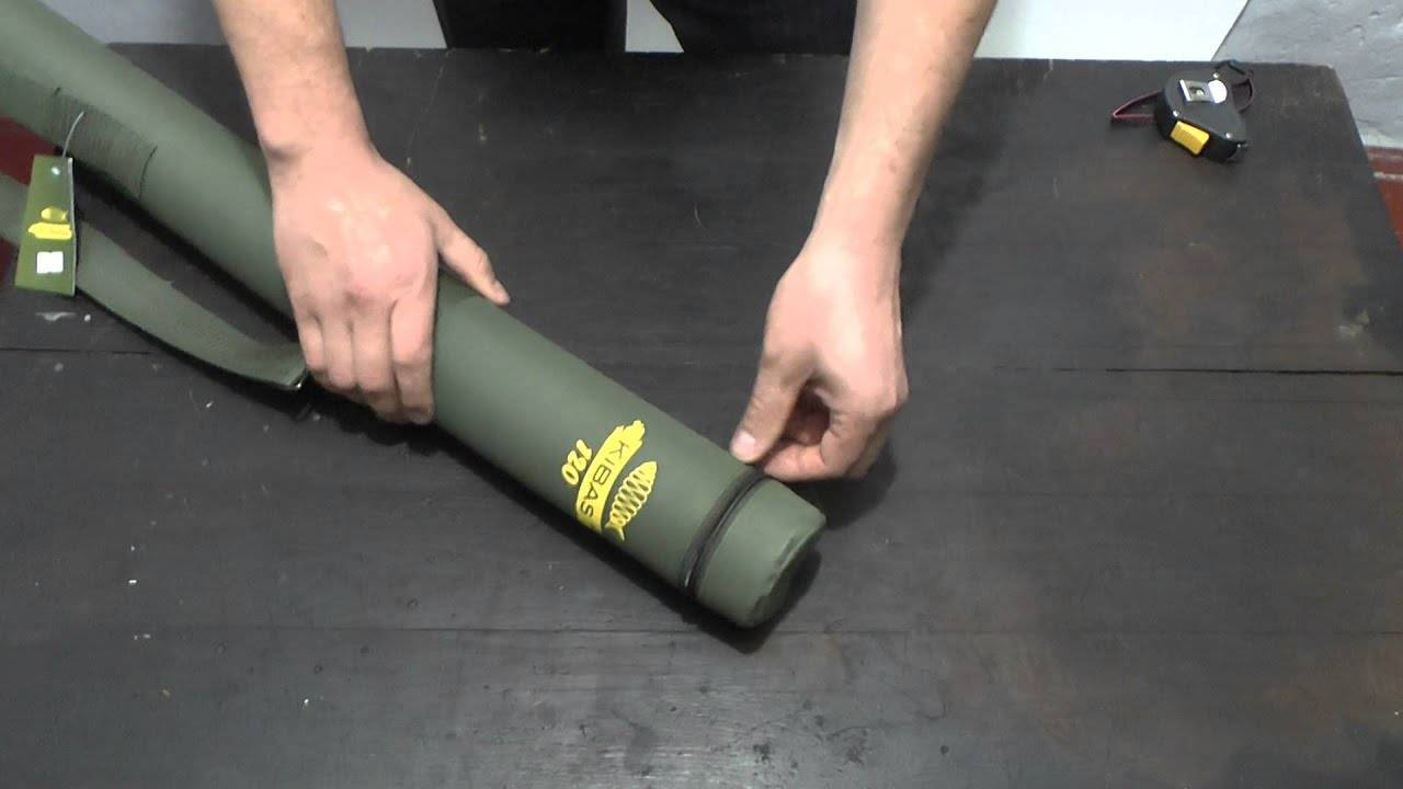 Как просто сшить чехол для удочек своими руками