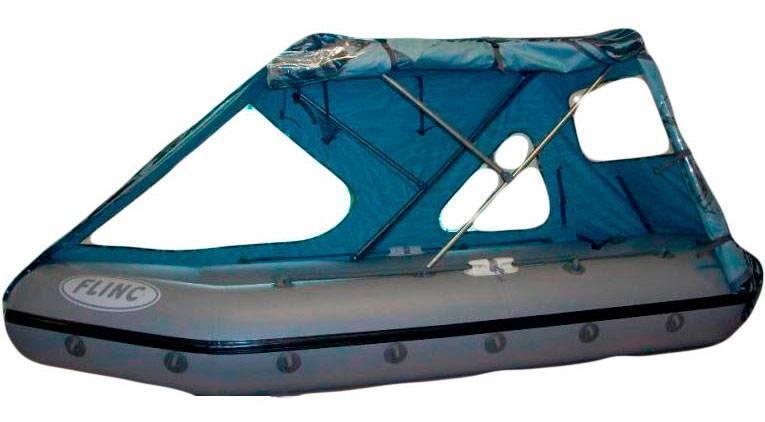 Как сделать тент на лодку пвх