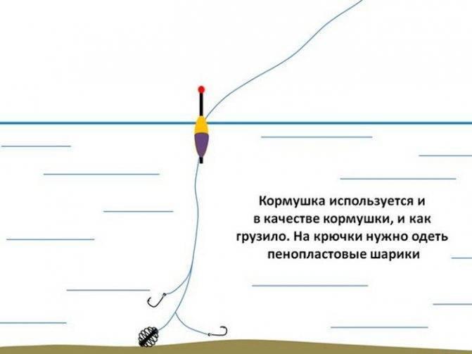 Оснастка поплавочной удочки на карася - правильный монтаж