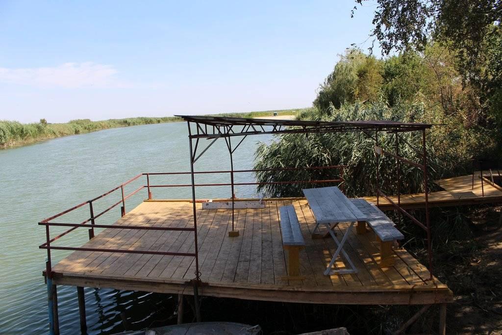 Базы отдыха на маныче (для отдыха с рыбалкой) - ростовская область