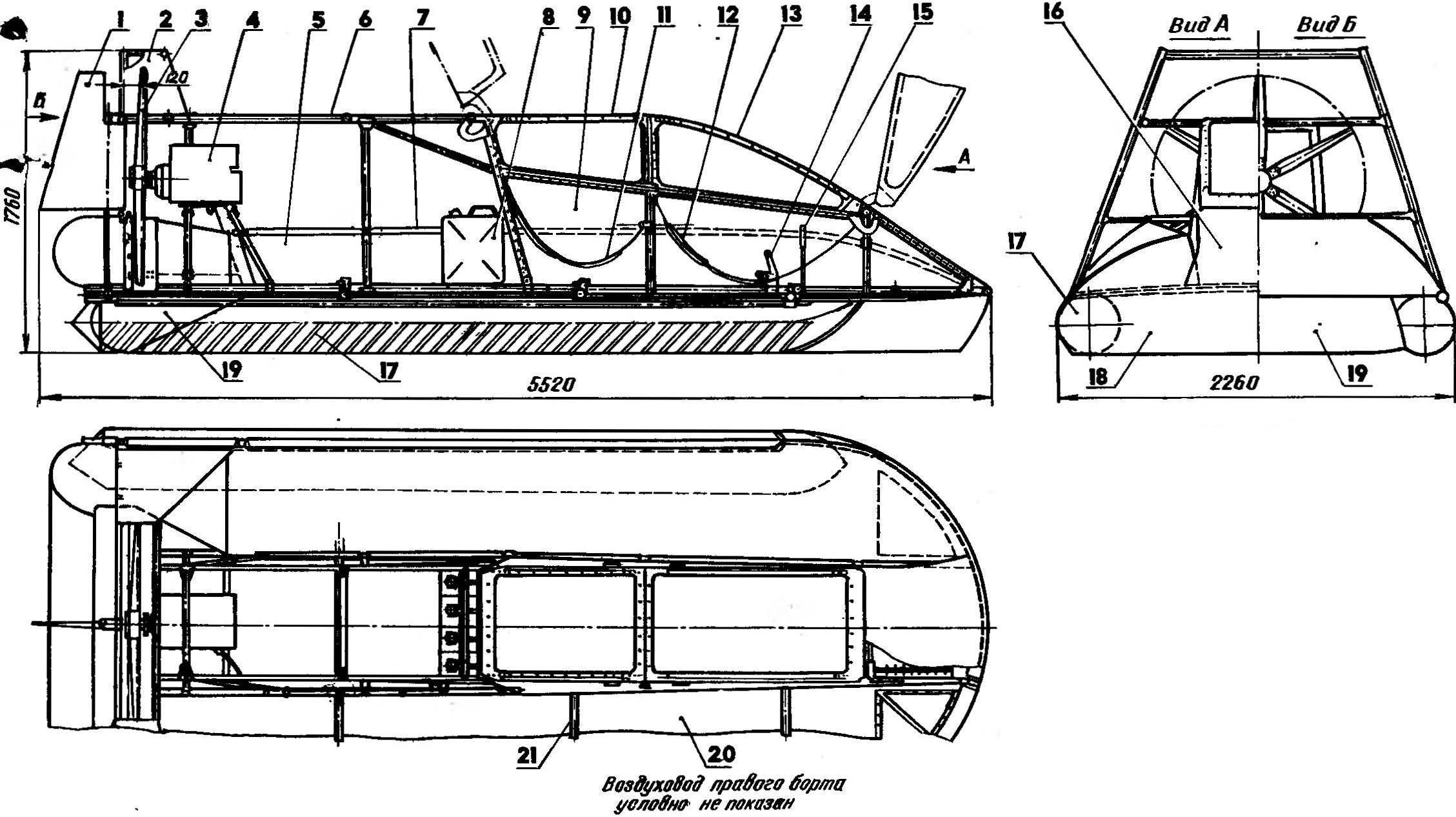 Судно на воздушной подушке своими руками. мир судов и катеров на воздушной подушке
