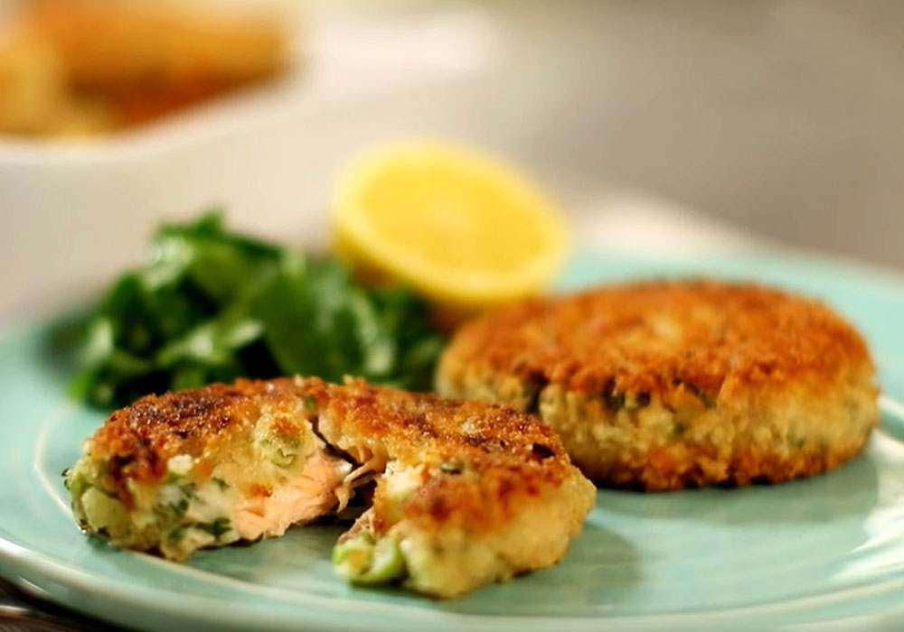 Котлеты рыбные в духовке диетические
