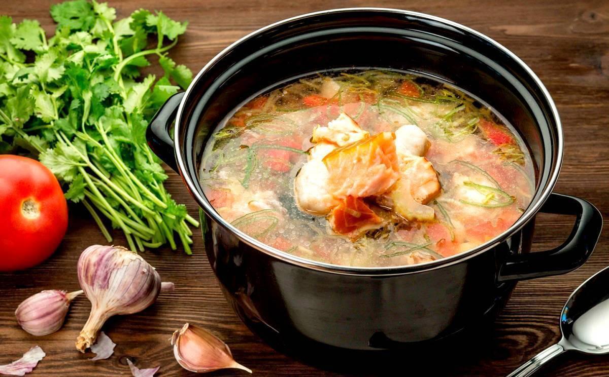 Уха из горбуши – сытный, аппетитный суп для всей семьи!