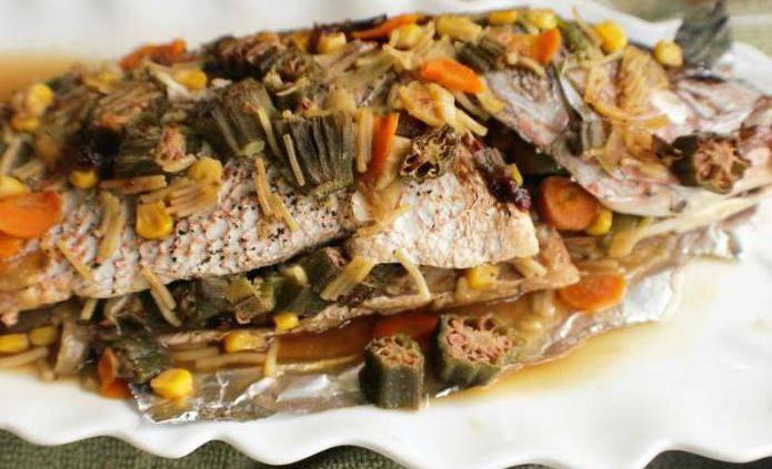 Язь в духовке – 4 сочных рецепта