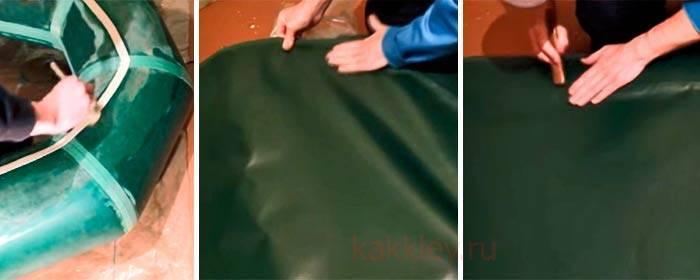 Как отремонтировать лодку пвх своими руками от а до я