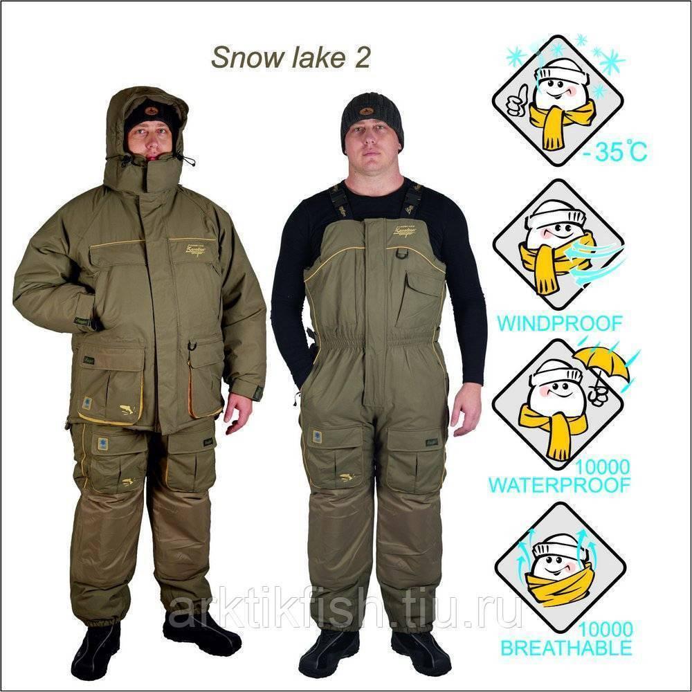 Лучший костюм для зимней рыбалки