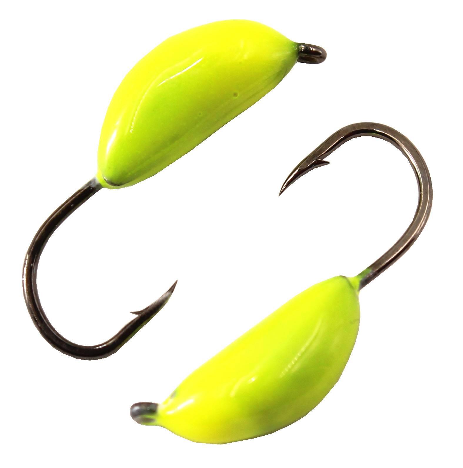 Мормышка-нимфа: применение для летнего и зимнего лова, банан и капля, прочие разновидности безмотылок