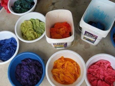 Как покрасить леску в домашних условиях в любой цвет по желанию