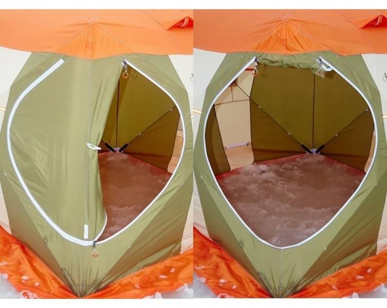 Топ-10 лучших палаток для зимней рыбалки