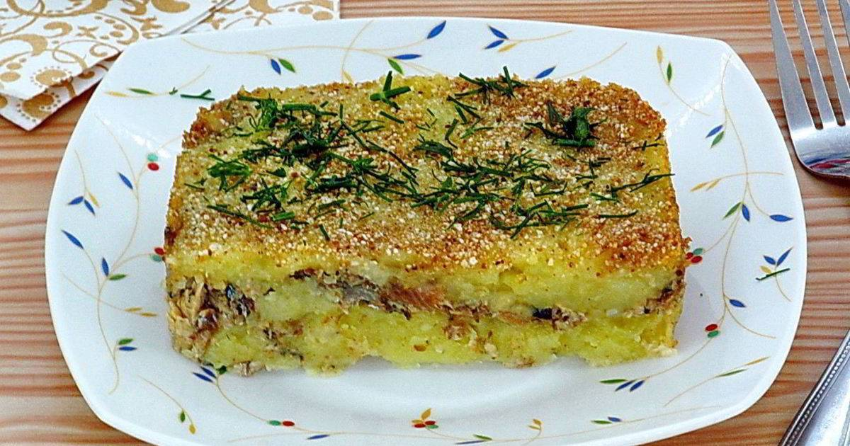 Диетическая рыбная запеканка – кулинарный рецепт