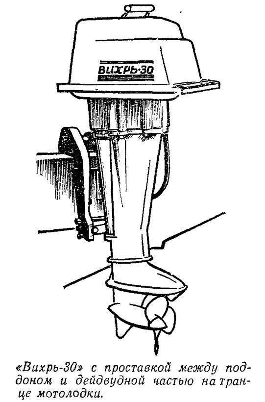 Лодочный мотор вихрь 25