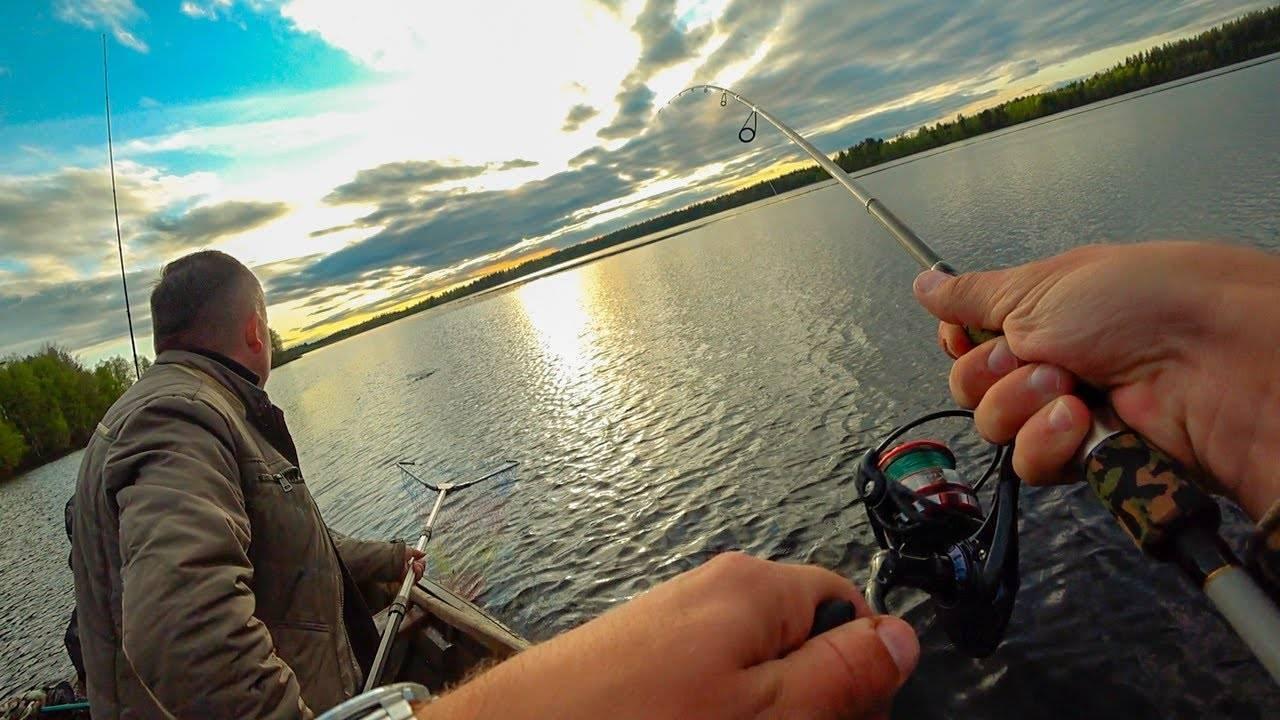 Озера Карелии: рыбалка в диких условиях