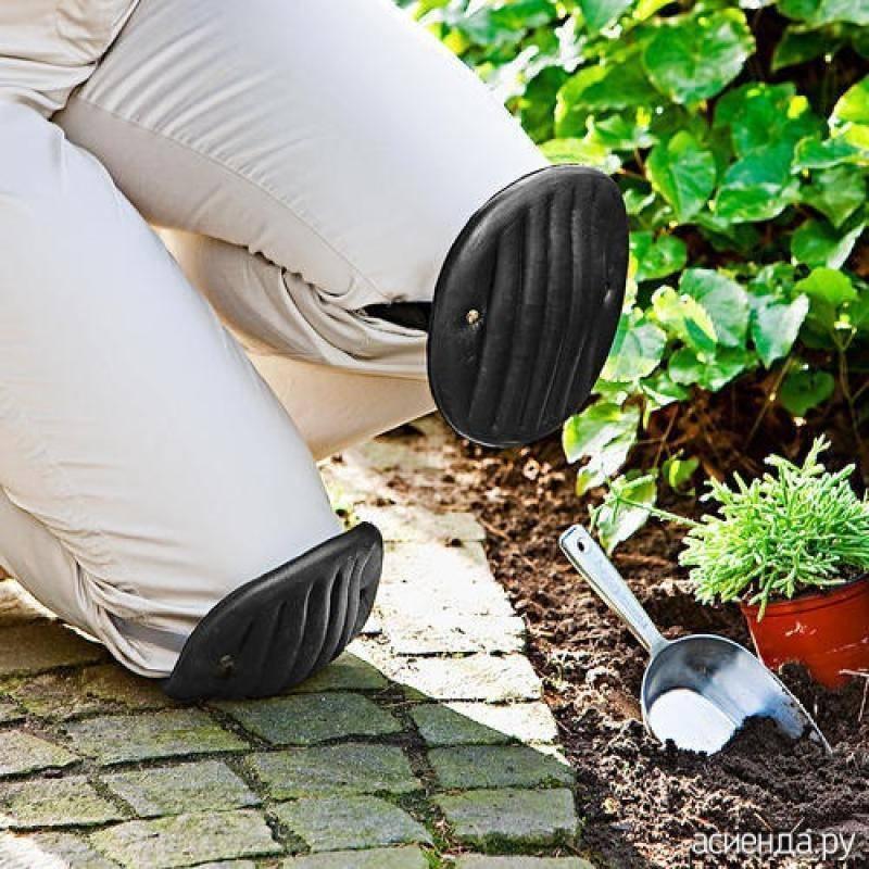 Защита коленей при работе в огороде