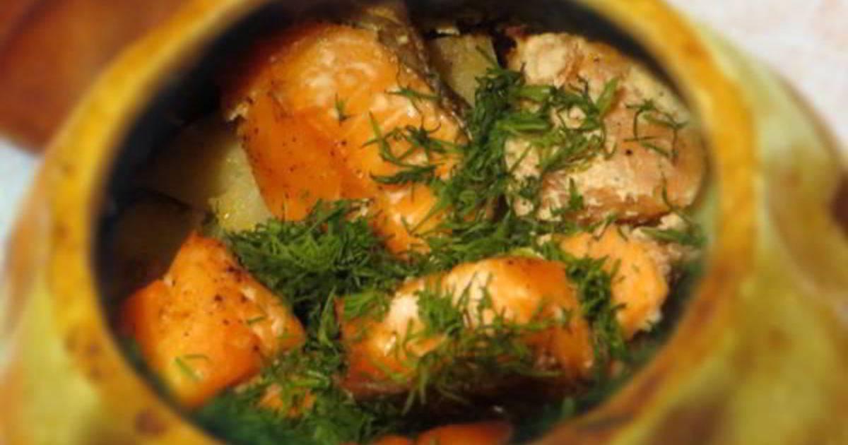 Рыба в духовке с картошкой  простой рецепт с фото как запечь рыбу