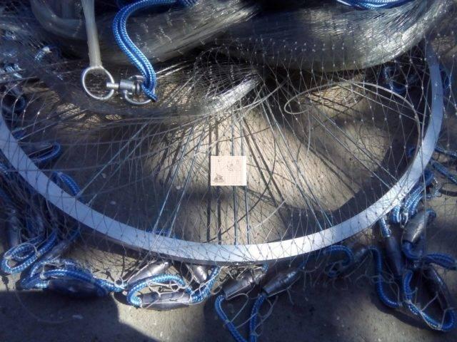 Техника заброса кастинговой сети