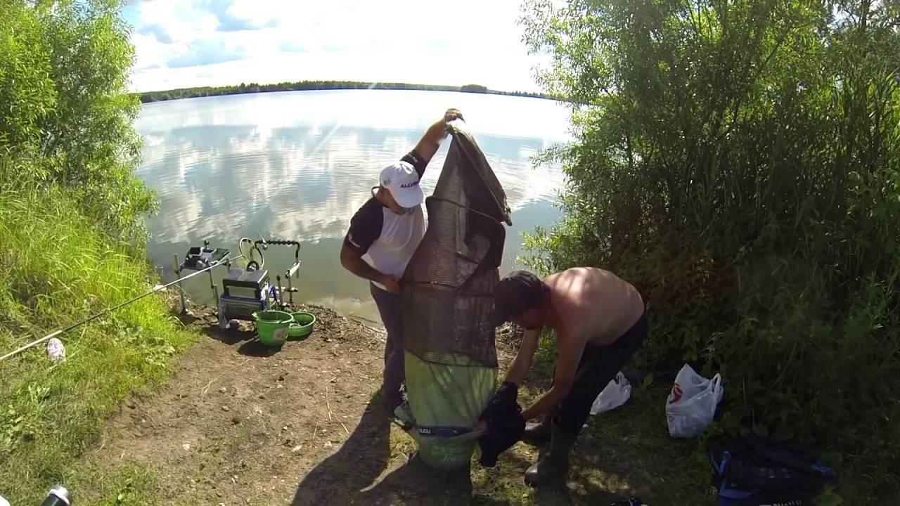 Рыбалка в егорьевском районе