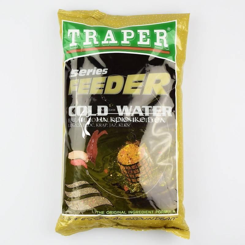 Все о прикормках трапер