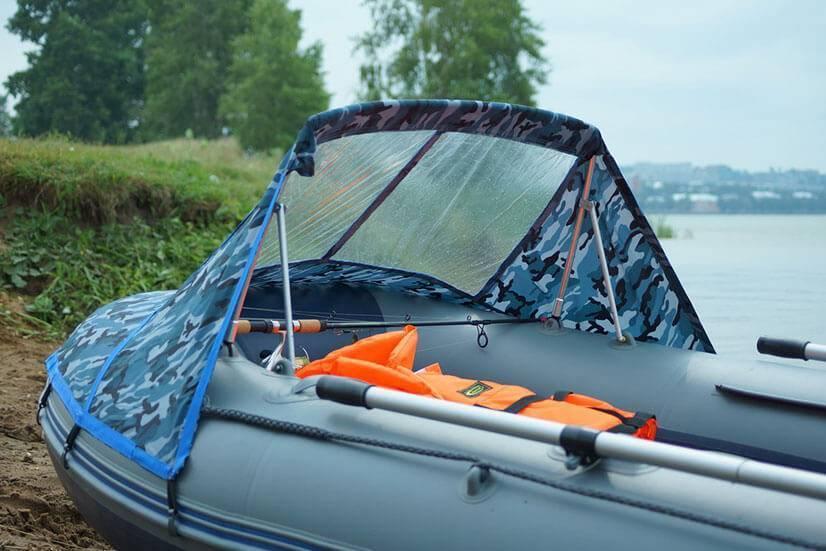 Тюнинг лодки пвх