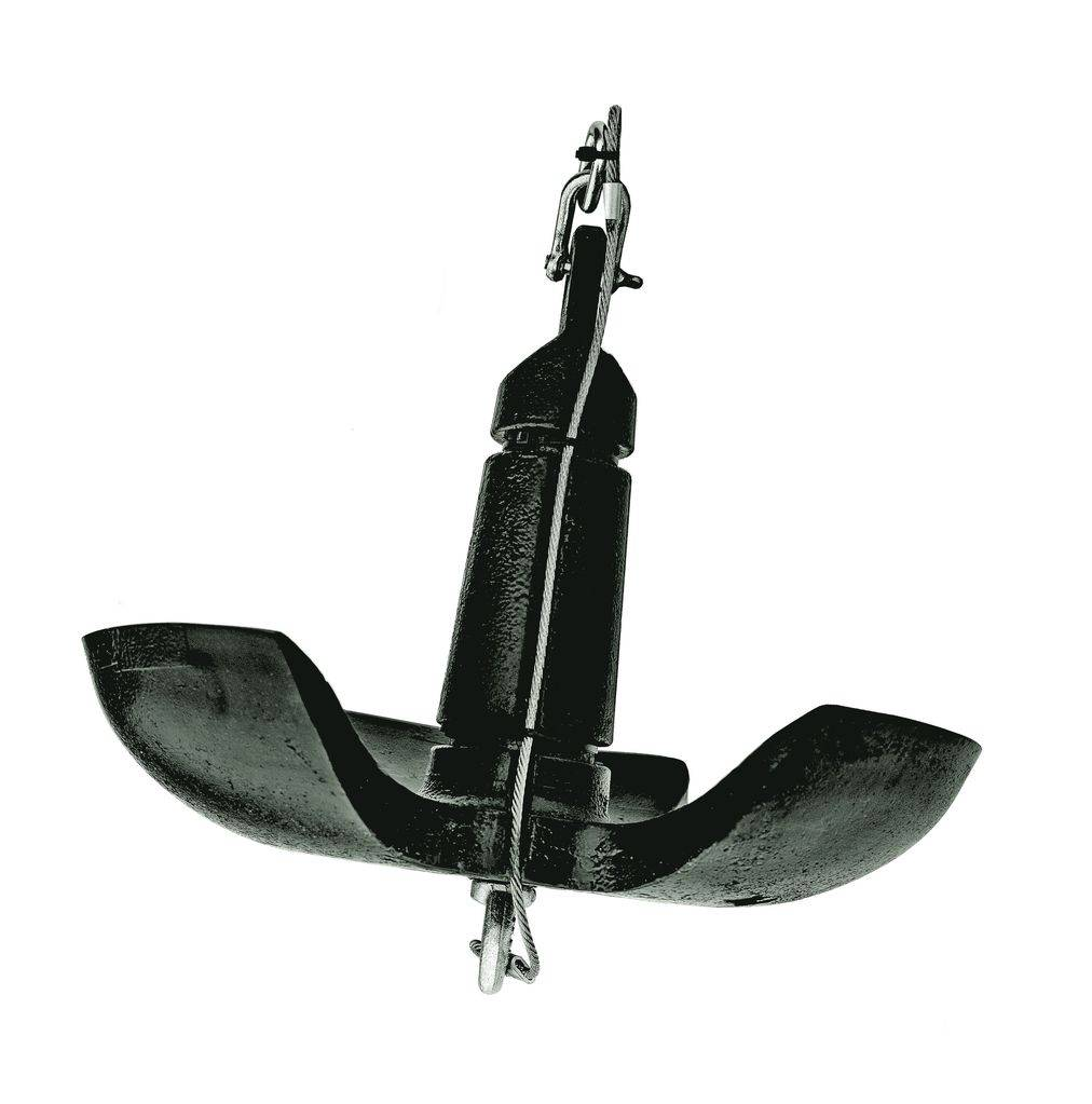Как сделать якорь для надувной лодки из пвх своими руками