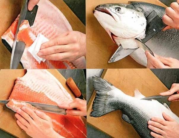 Как чистить рыбу? как потрошить рыбу? как удалить жабры у рыбы?