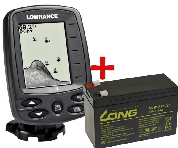 Эхолоты Lowrance X-4 Pro