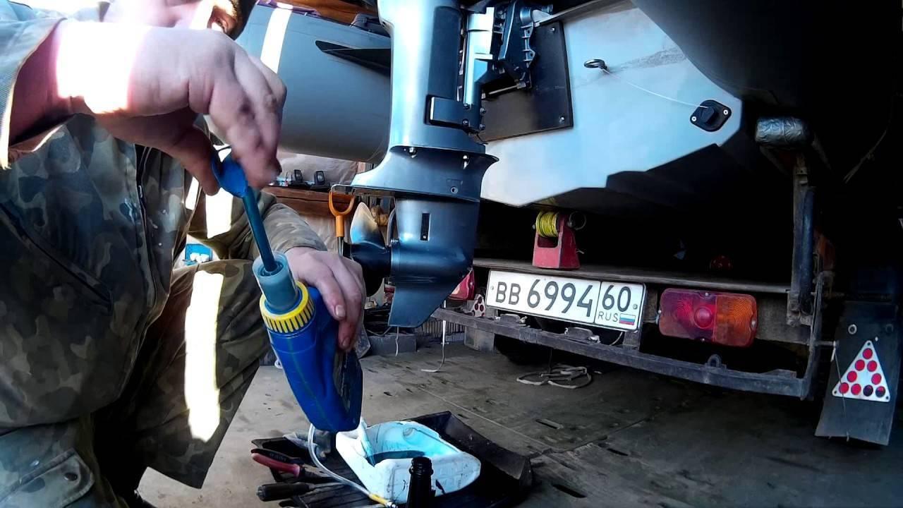 Какое масло заливать в редуктор лодочного мотора — lodkavmore