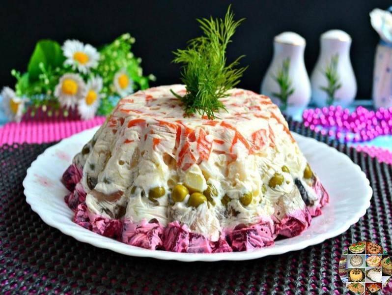 Селедка под шубой - пошаговый классический рецепт с фото | будет вкусно