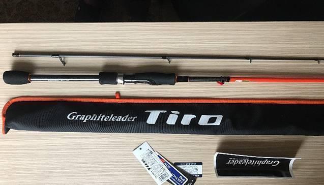 Спиннинг графитлидер тиро 4 22, преимущества моделей от graphiteleader tiro (prototype, ex)