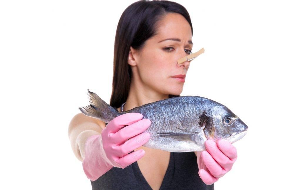 Как понять что испортилась рыба. что делать и как убрать запах рыбы с душком