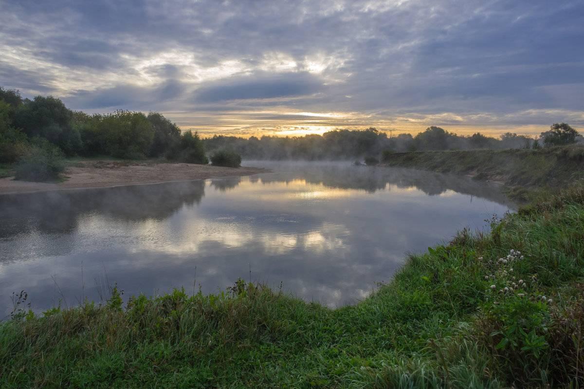 Река уча — небольшой приток клязьмы в подмосковье