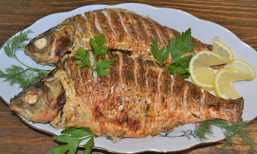 Запеченый лещ – кулинарный рецепт