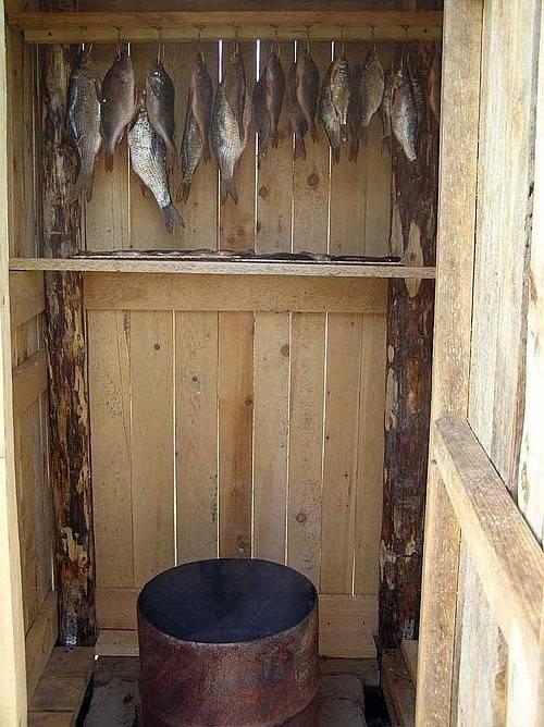 Виды коптильни для мяса и рыбы: горячее и холодное копчение