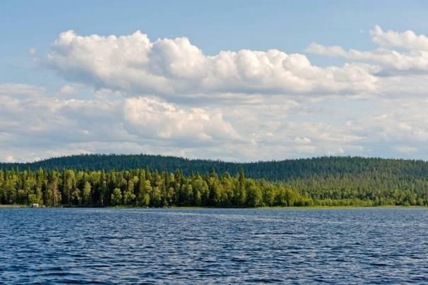Озеро среднее куйто - рыбалка