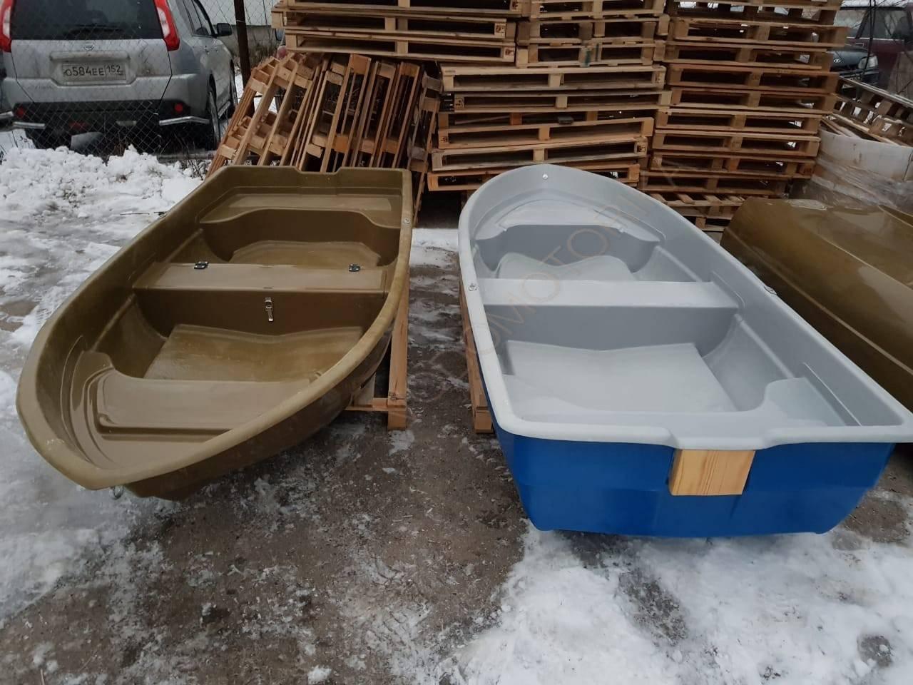 Особенности пластиковых прогулочных лодок для рыбалки