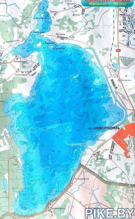 Места рыбалки — дмитровское шоссе
