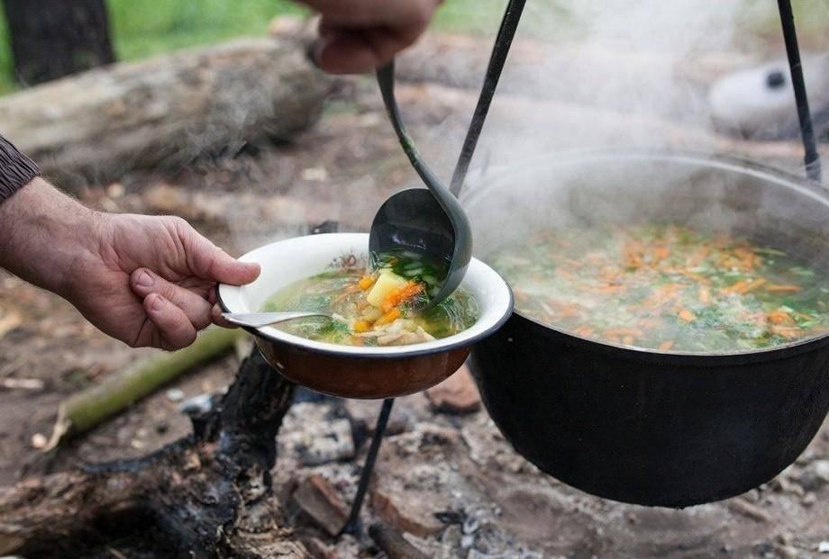 Уха на костре- нюансы и рецепт приготовления