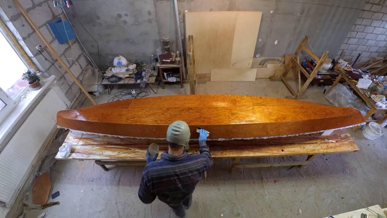 Постройка самодельного каяка для рыбалки из фанеры