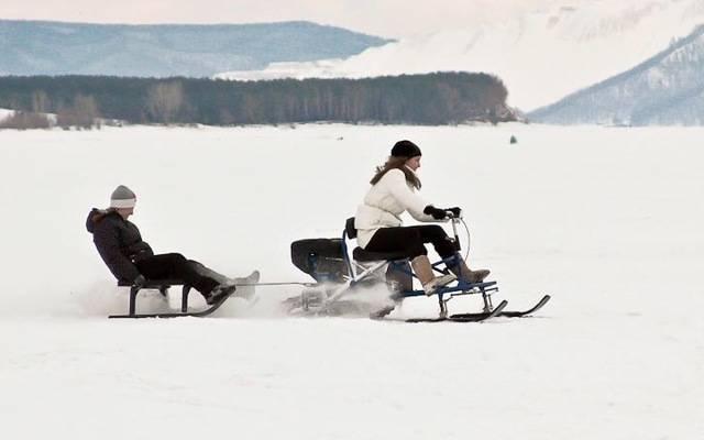 Выбор лучшего снегохода brp – formula 7