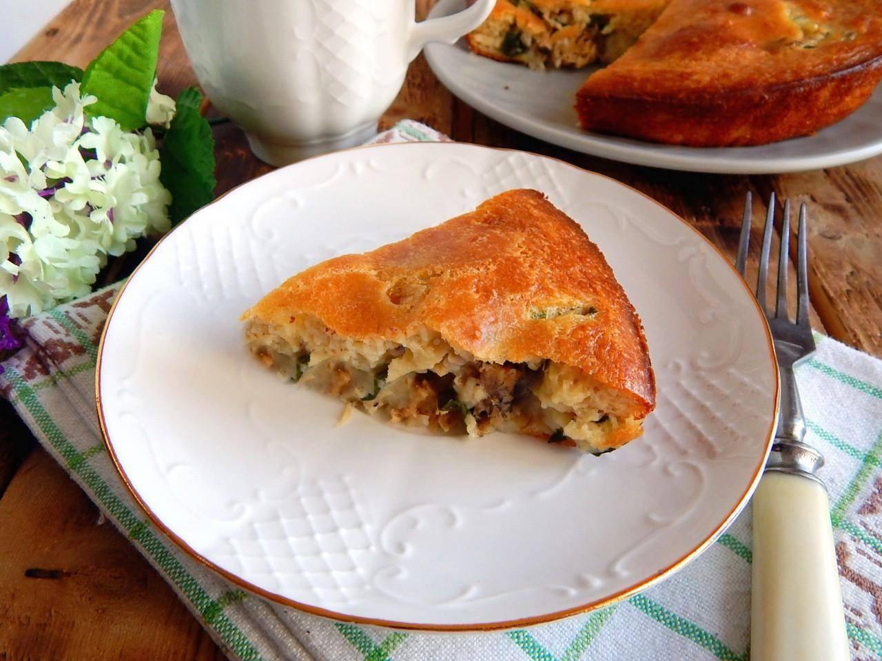 Пирог с рыбой (более 100 рецептов с фото) - рецепты с фотографиями на поварёнок.ру