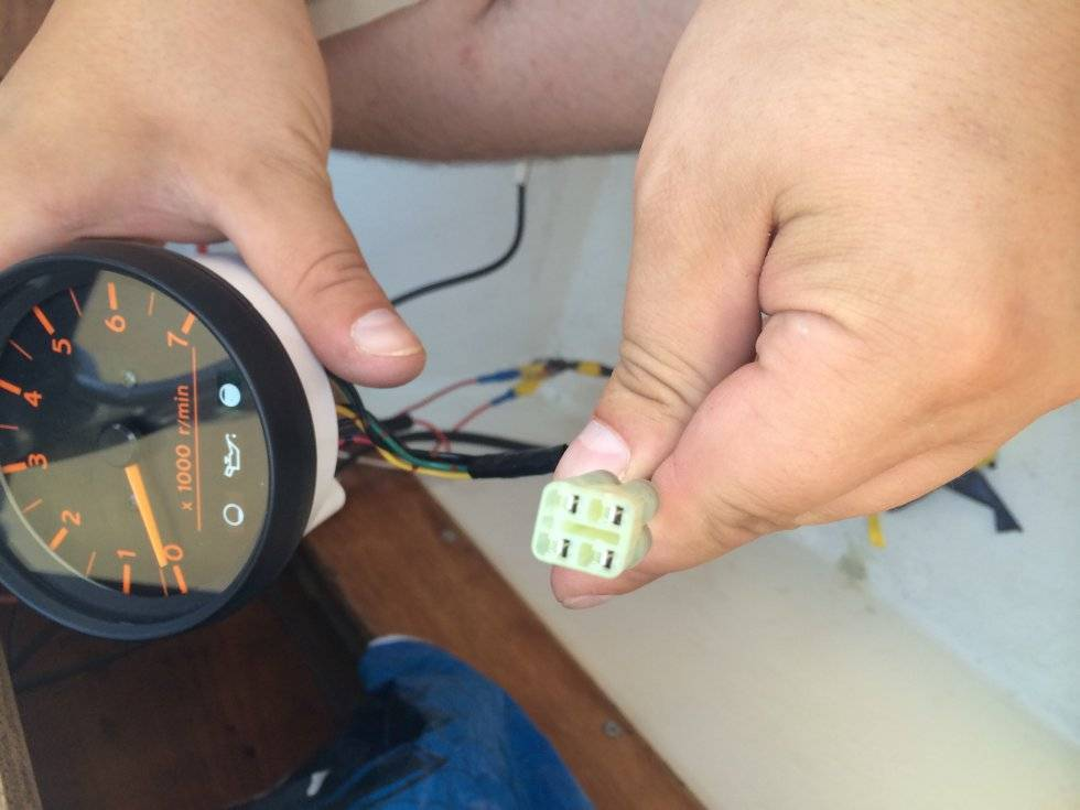 Тахометр для лодочного мотора инструкция