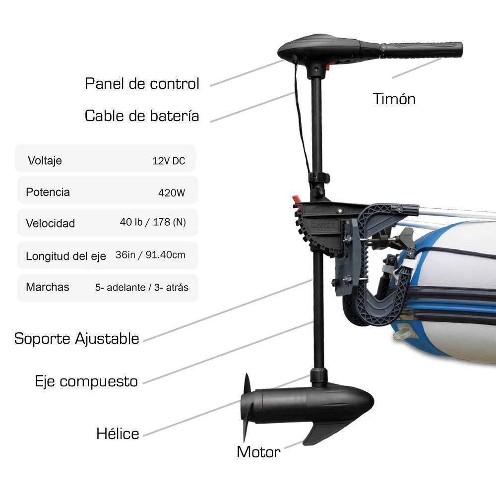 Как выбрать электромотор для надувной лодки