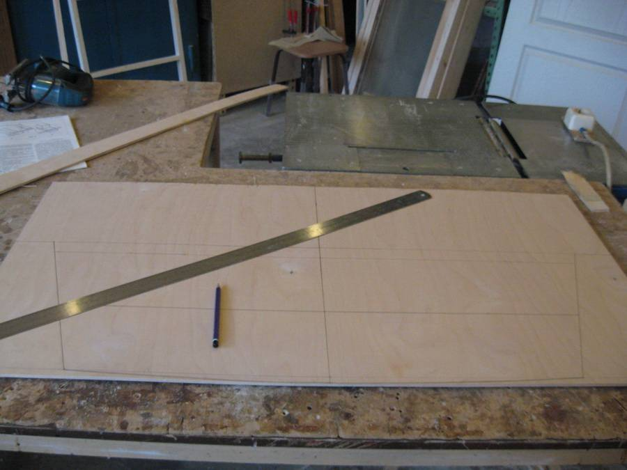 Изготовление лодки из фанеры своими руками