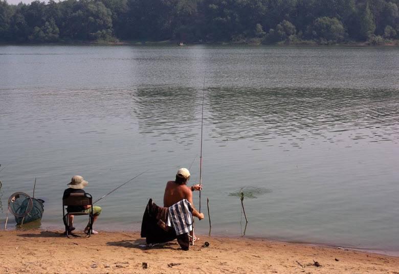 Рыбалка в подмосковье - запад области
