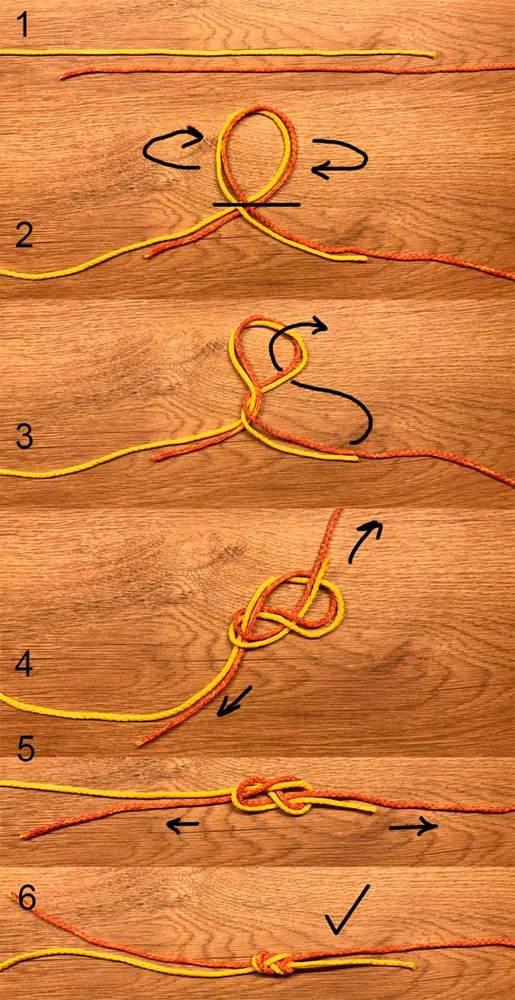 Узел восьмерка: как вязать рыбацкую петлю, способ связывания двойной петли, схема