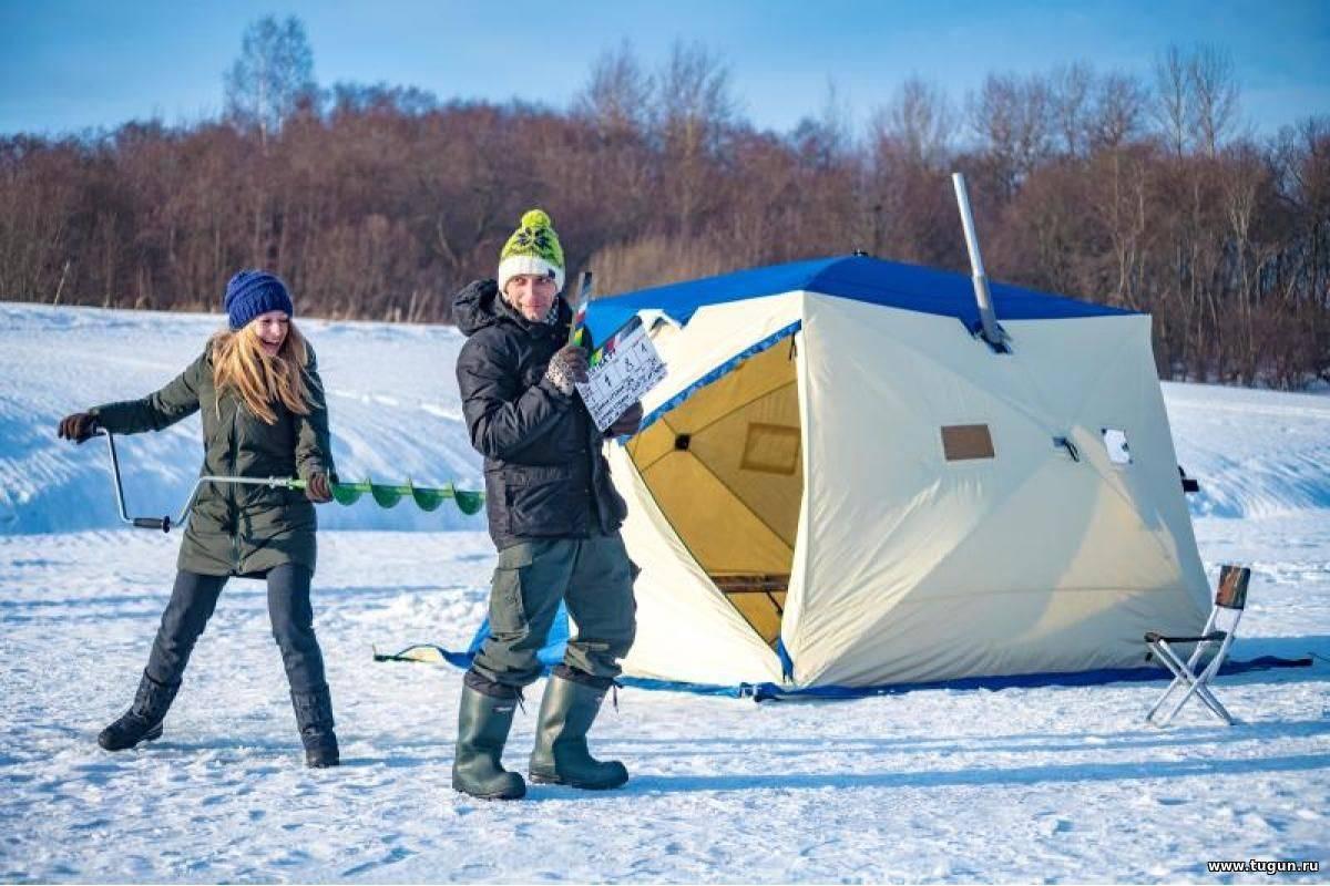 Выбираем палатку для зимней рыбалки